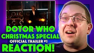 Here's my reaction to the trailer for Doctor Who Christmas Special and I can not wait! Being a huge Whovian of even the original shows, I always get excited over ...