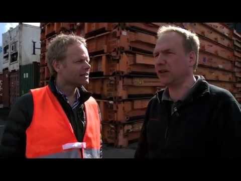 Hamburg: Waschen, stapeln, reparieren - Leercontainerlo ...
