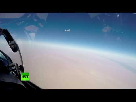 Удар крылатыми ракетами Х-101 по Ракке