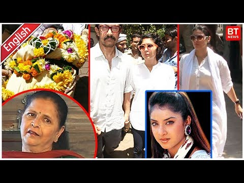 Video Divya Bharti's Mother Meeta Bharti Passes Away download in MP3, 3GP, MP4, WEBM, AVI, FLV January 2017