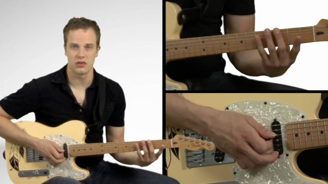 CAGED Sequence For Major Scales – Guitar Lessons