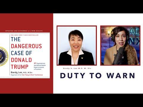 The Dangerous Case of Trump (Dr. Bandy X. Lee)