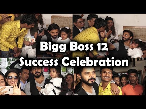 Sreesanth Bigg Boss 12 Success Celebration & Announcement Of NEW SONG On WORLD CUP 2019