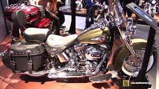 7. 2016 Harley Davidson Heritage Softail Classic - Walkaround - 2015 EICMA Milan