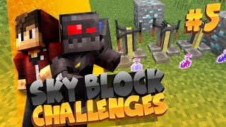Welcome to episode 5 of Minecraft Skyblock Challenges! This series will consist of various challenges that must be done in the gamemode of Skyblock. The winn...