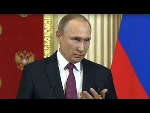 Internet cracks up over Putin prostitute remark (видео)