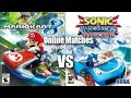 Mario Kart 8 Vs Sonic Racing Transformed Online Matches