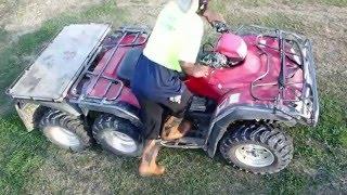 10. Honda TRX 6X6 ATV