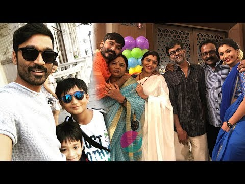 Actor Dhanush Family Members | Wife, Son, Father, Mother, Brother, Sisters Photos & Biography