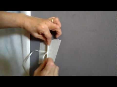 Como prender o arco(how to attach a balloon arch to a wall)PARTE3
