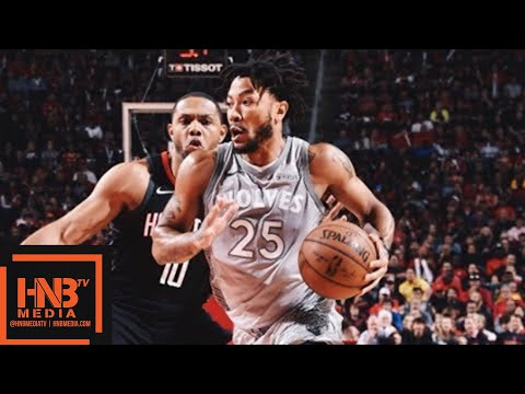 Houston Rockets vs Minnesota Timberwolves Full Game Highlights / Game 1 / 2018 NBA Playoffs