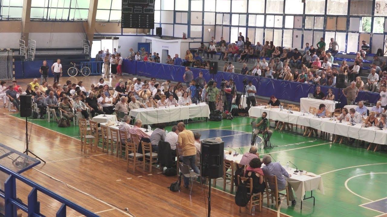 Tο Δημοτικό Συμβούλιο της Αθήνας συνεδρίασε εκτάκτως στο Πεδίον του Άρεως