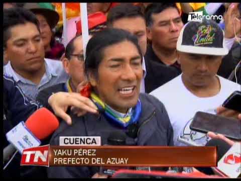 Yaku Pérez amenazó con volver a las calles si no se cumplen los acuerdos