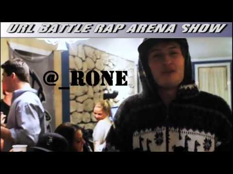 URL Battle Rap Arena has Rone on the Show