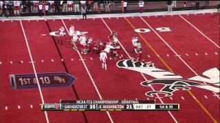 Tim Flanders vs Eastern Washington (2012)