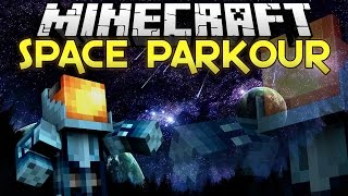 SPACE PARKOUR = RAGE PARKOUR | Minecraft Parkour w/ MinecraftUniverse
