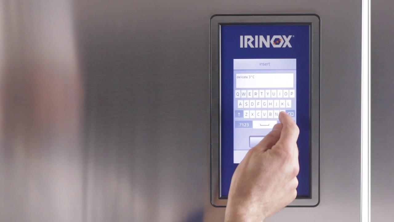 Irinox Multifresh MYA Tutorial - 06 Registrazione del ciclo
