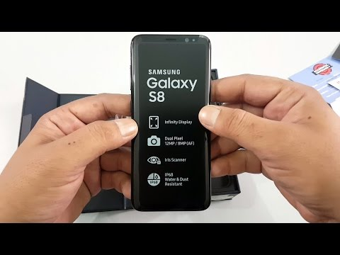 Samsung Galaxy S8 UNBOXING | Midnight Black, Pakistani Unit  | [Urdu/Hindi]