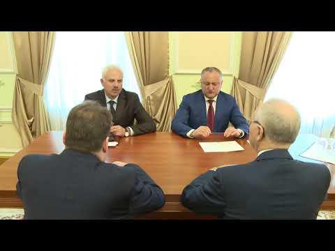 Președintele Moldovei a avut o întrevedere cu Ambasadorul Extraordinar şi Plenipotențiar al Federației Ruse în Republica Moldova, Farit Muhametşin