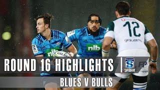 Blues v Bulls Rd.16 2019 Super rugby video highlights | Super Rugby Video Highlights
