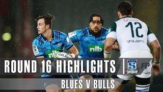 Blues v Bulls Rd.16 2019 Super rugby video highlights | Super Rugby Video Highlights