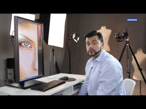 Samsung Video-Tutorial: High Resolution Monitore