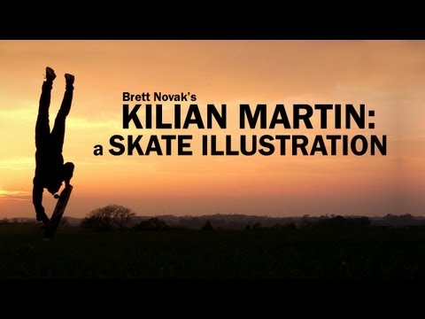 Kilian Martin - A Skate Illustration