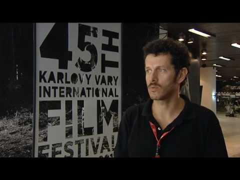 Boriboj - Greek director Vardis Marinakis discusses his film The Black Field at the Karlovy Vary IFF in the Czech Republic in July 2010.