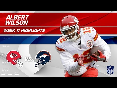 Video: Albert Wilson Highlights | Chiefs vs. Broncos | NFL Wk 17 Highlights