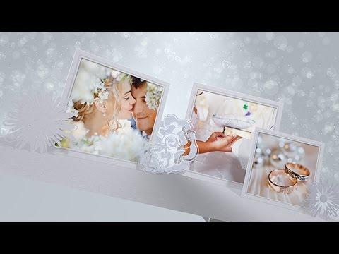 Как создать красивое свадебное слайд шоу