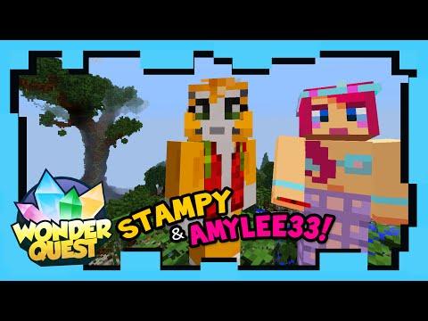 Wonder Quest - Episode 5 - STAMPY'S MINECRAFT SHOW | Stampylonghead, AmyLee33, ShayCarl