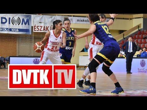 Női Európa Kupa D-csoport 4. forduló.  Aluinvent DVTK - Good Angels Košice