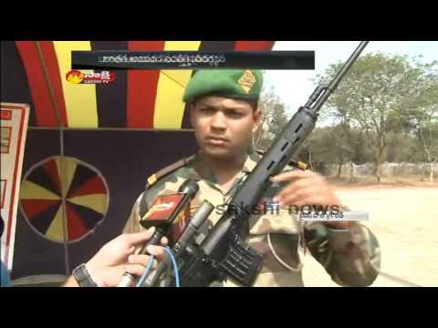 Indian Army Exhibition Fascinates Public in Hyderabad: Watch Exclusive
