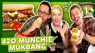 420 Munchie Mukbang Sesh with Cottonmouth Media by That High Couple
