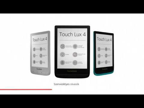 PocketBook Touch Lux 4 zászlóshajó – kényelmes olvasás minden körülmény között