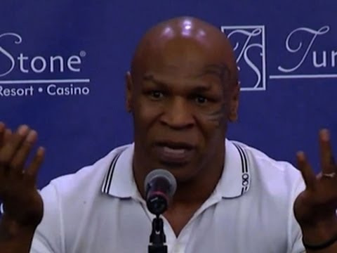Boxer's battle: Mike Tyson says he's addicted to drugs and alcohol