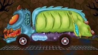 Video garbage truck | car garage | car formation | scary video for children MP3, 3GP, MP4, WEBM, AVI, FLV September 2017