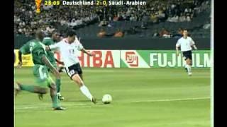 Carsten Jancker im Spiel gegen Saudi-Arabien