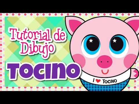 TOCINO-TUTORIAL DIBUJO-DISTROLLER