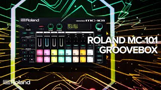 Roland MC-101 GROOVEBOX for Beatmakers and Mobile Producers