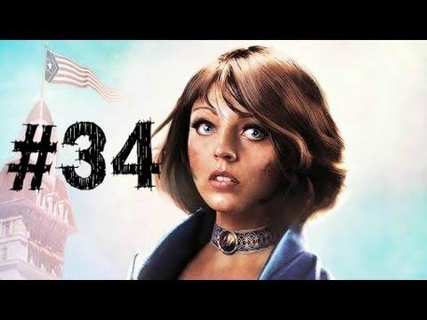 Bioshock Infinite Gameplay Walkthrough Part 34 - Airborne Assualt - Chapter 34
