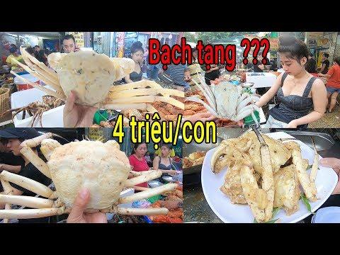 Xuất hiện Cua Bạch Tạng cực hiếm và đắt ở vỉa hè Sài Gòn | Ăn cua Tuyết - Thời lượng: 36:32.