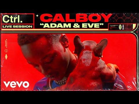 "Calboy - ""Adam & Eve"" Live Session   Vevo Ctrl"