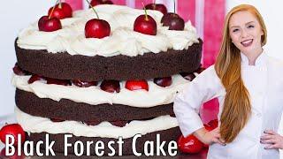 Chocolate Cherry Cake by Tatyana's Everyday Food