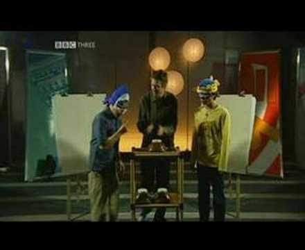 「イギリスBBCの番組「Adam and Joe go Tokyo」に出演したときのさかなクン」のイメージ