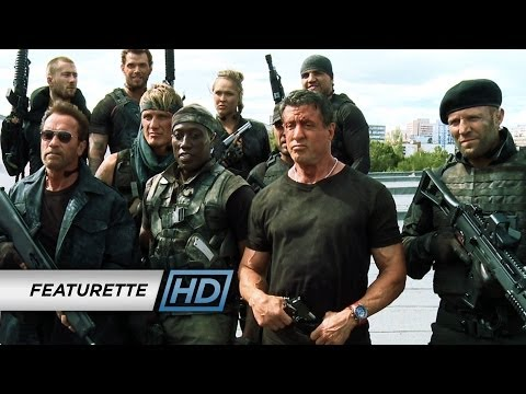 The Expendables 3 (Featurette 'Action on Set')