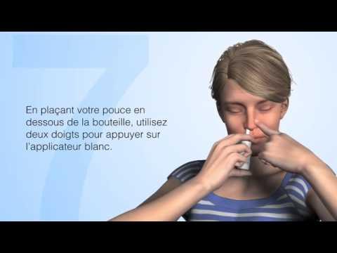 Comment utiliser un vaporisateur nasal correctement