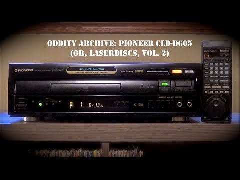 Oddity Archive: Episode 158 – Pioneer CLD-D605 (or, Laserdiscs, Vol. 2)
