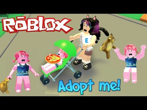 Adopting a Baby Troll in Roblox - Adopt me ! Roleplay - Titi Games
