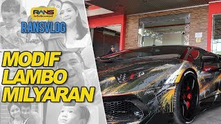 Download Video MODIF LAMBORGHINI MILYARAN PUNYA RAFFI AHMAD #RANSVLOG MP3 3GP MP4